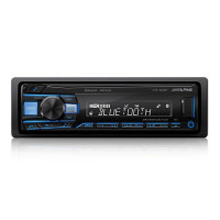 ALPINE UTE-200BT BILRADIO MED BLUETOOTH OG 2 LINE OUT