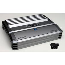 Nitro 4-kanals Mosfet forstærker 800W med fjernbetjent Bas kontrol