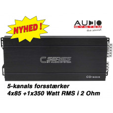 CO-600.5 Audio System 5-Kanals forstærker