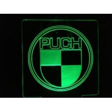 Puch - Plexiglas Diodeskilt