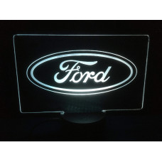 Ford - Plexiglas Diodeskilt