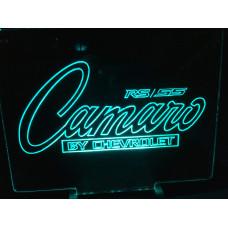 Camaro - plexiglas diode skilt