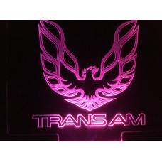 Trans Am - Plexiglas Diode skilt