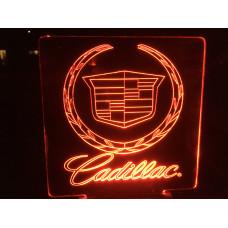Cadillac-plexiglas Diodeskilt