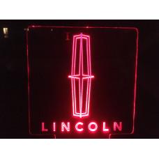 Lincoln-Plexiglas Diodeskilt