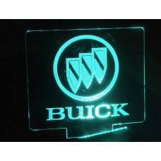 Buick-Plexiglas Diodeskilt