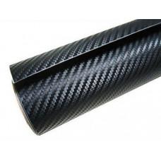CF3D-B1 3D Carbonfiber Folie, Sort Mat