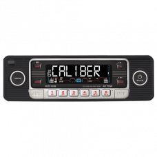 RCD110Black - Caliber Retro Radio