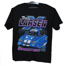 T-Shirt  med Dragracing Funnycar motiv